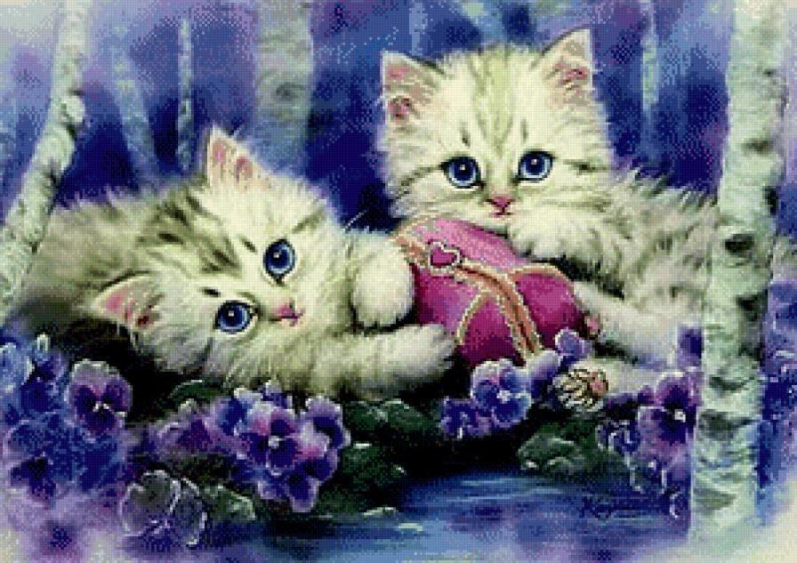 Классика современность, открытки с котенка