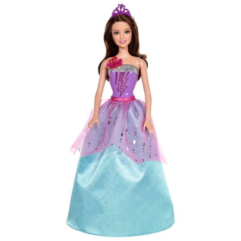 Кукла в современном платье