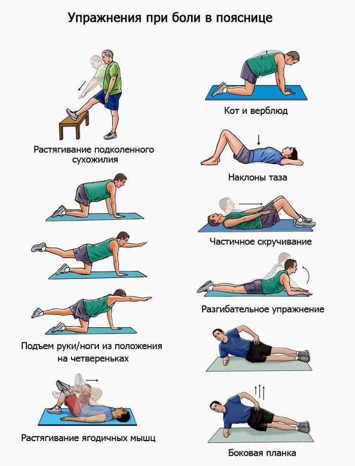 Укрепление мышц спины при грыже и протрузии