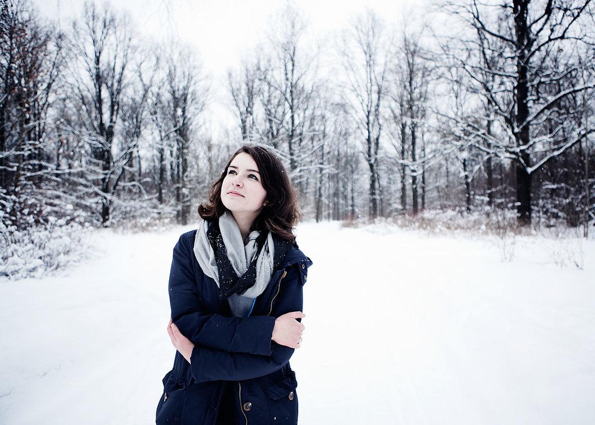 представлены примеры фото в зимнем парке линии звезды смотрятся