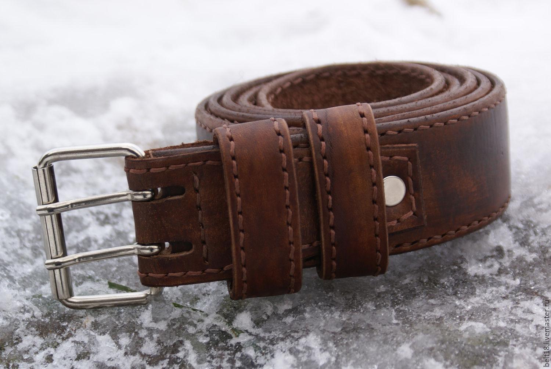 Купить мужской кожаный ремень ручной работы купить кожаный ремень в алматы