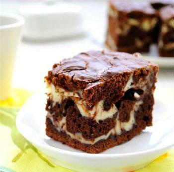 Творожно шоколадный пирог в мультиварке