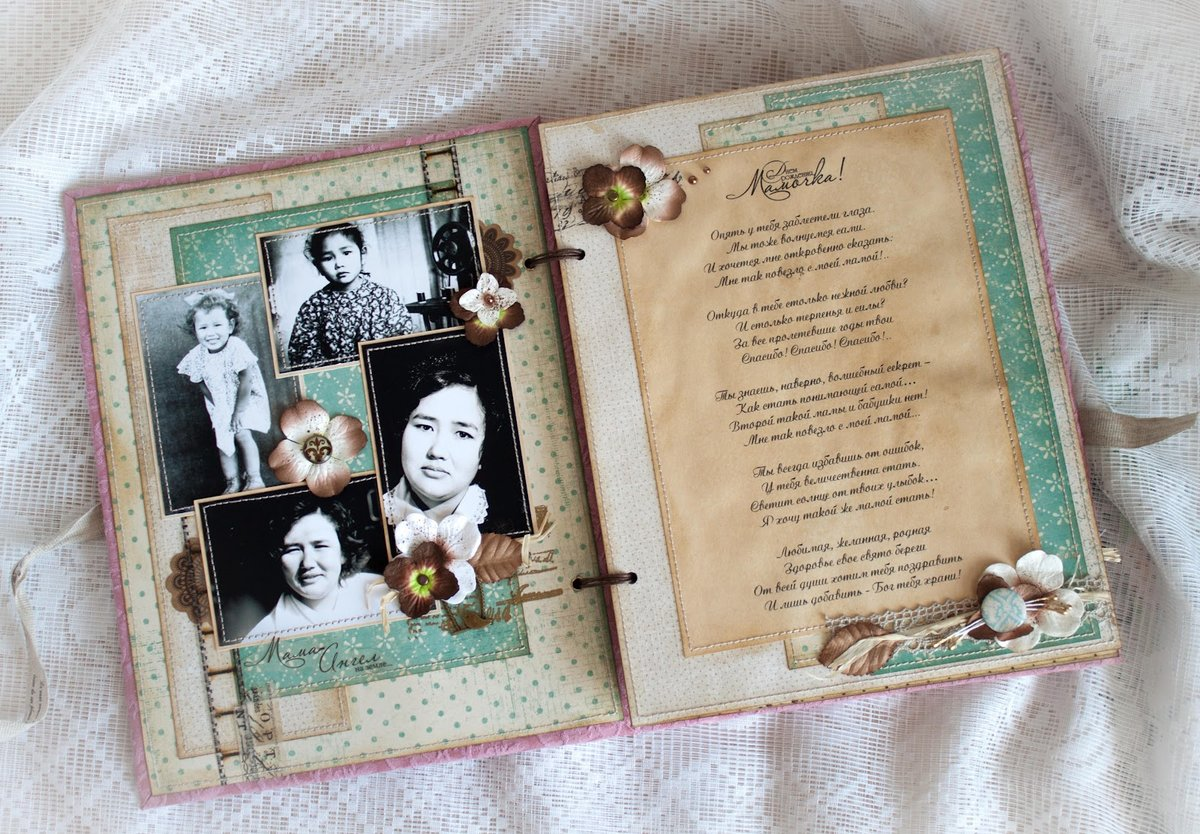 Альбомы для поздравлений на юбилей
