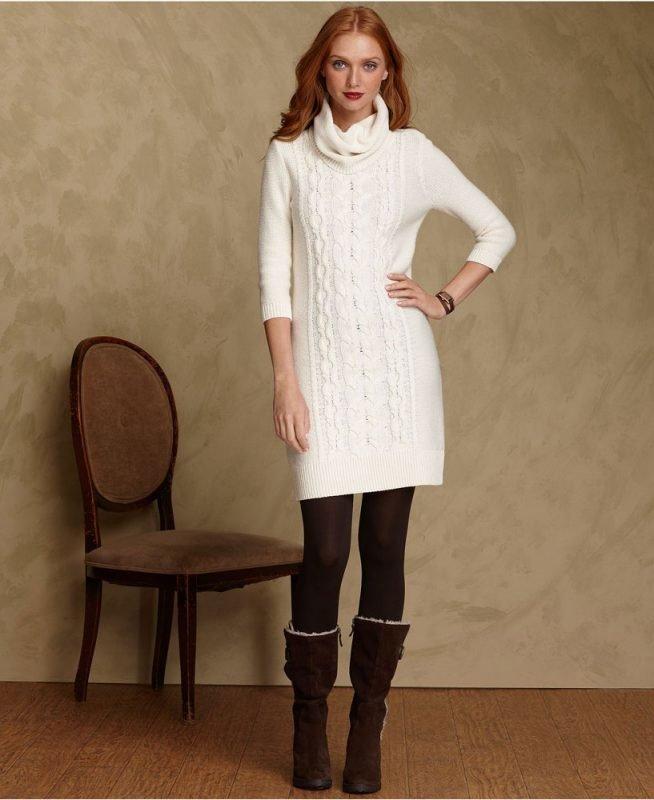 белые зимние платья фото основных направлений обозначились