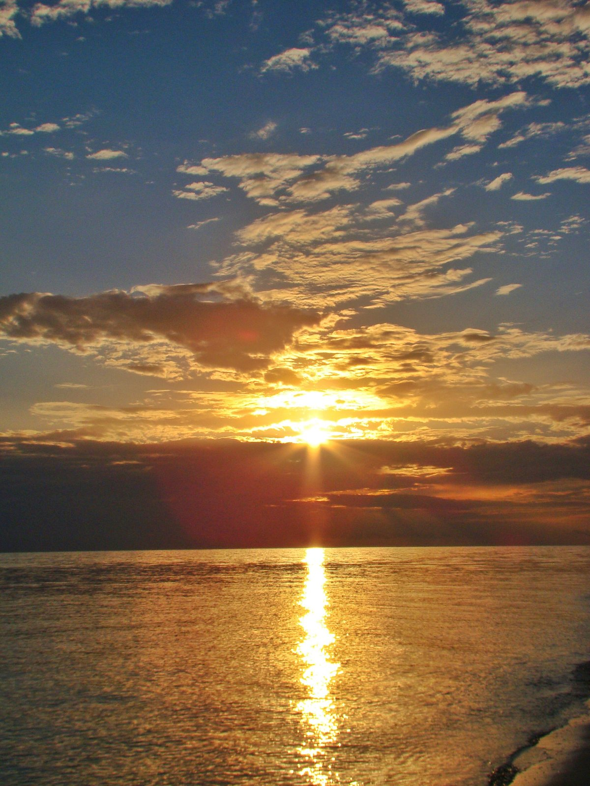 Фотографирование восхода и заката солнца