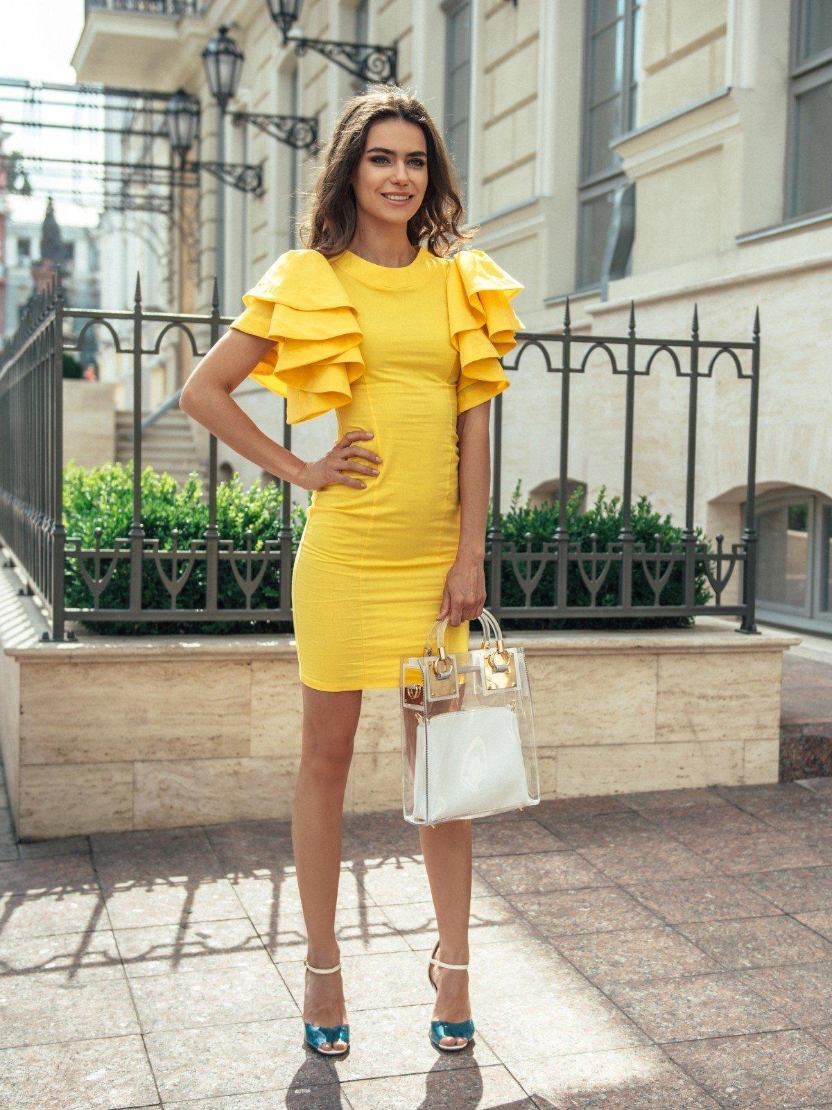 желтые платья как можно носить фото после одного