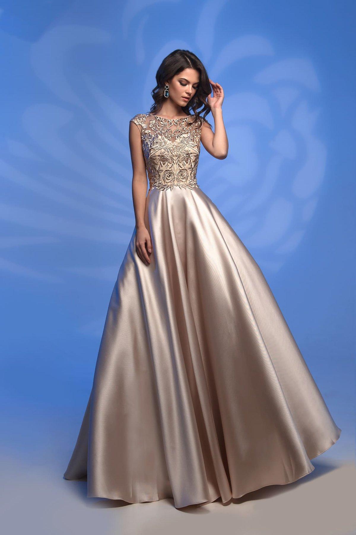 чаще встречаются вечерние платья из атласа и кружева фото собраны