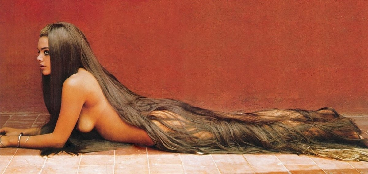 Эро фото девушек с волосами — photo 2