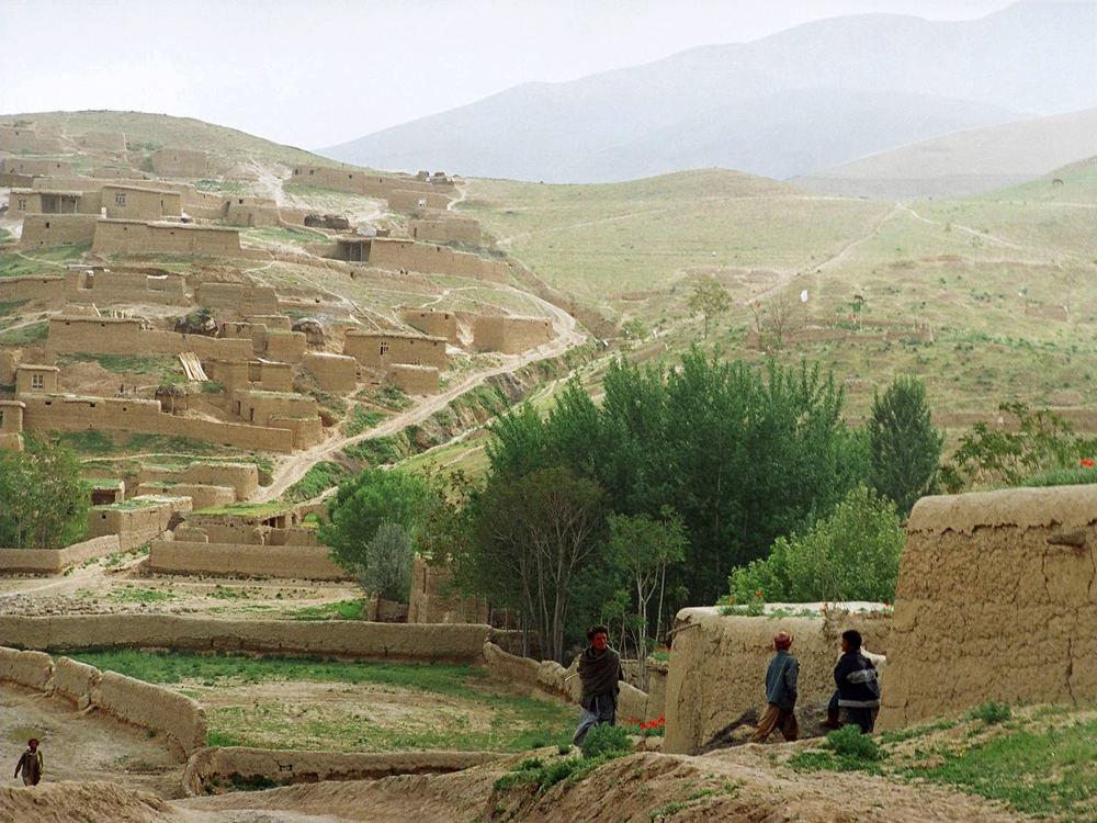 материалы использовались фото горные села в афганистане то