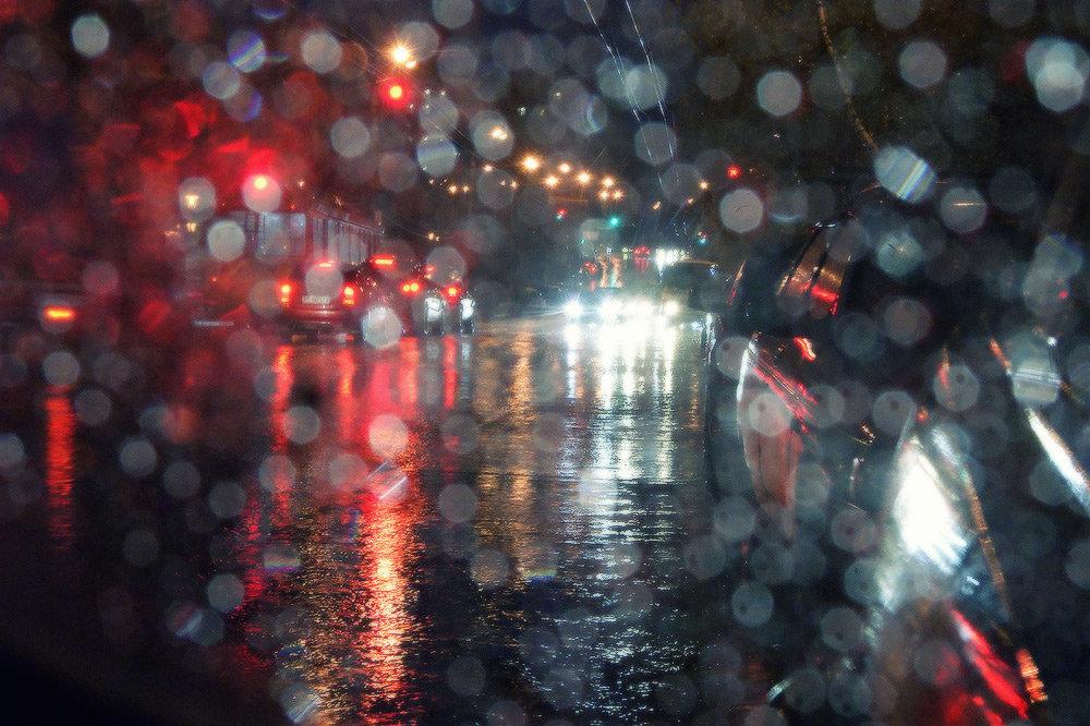 Ночной дождь картинки