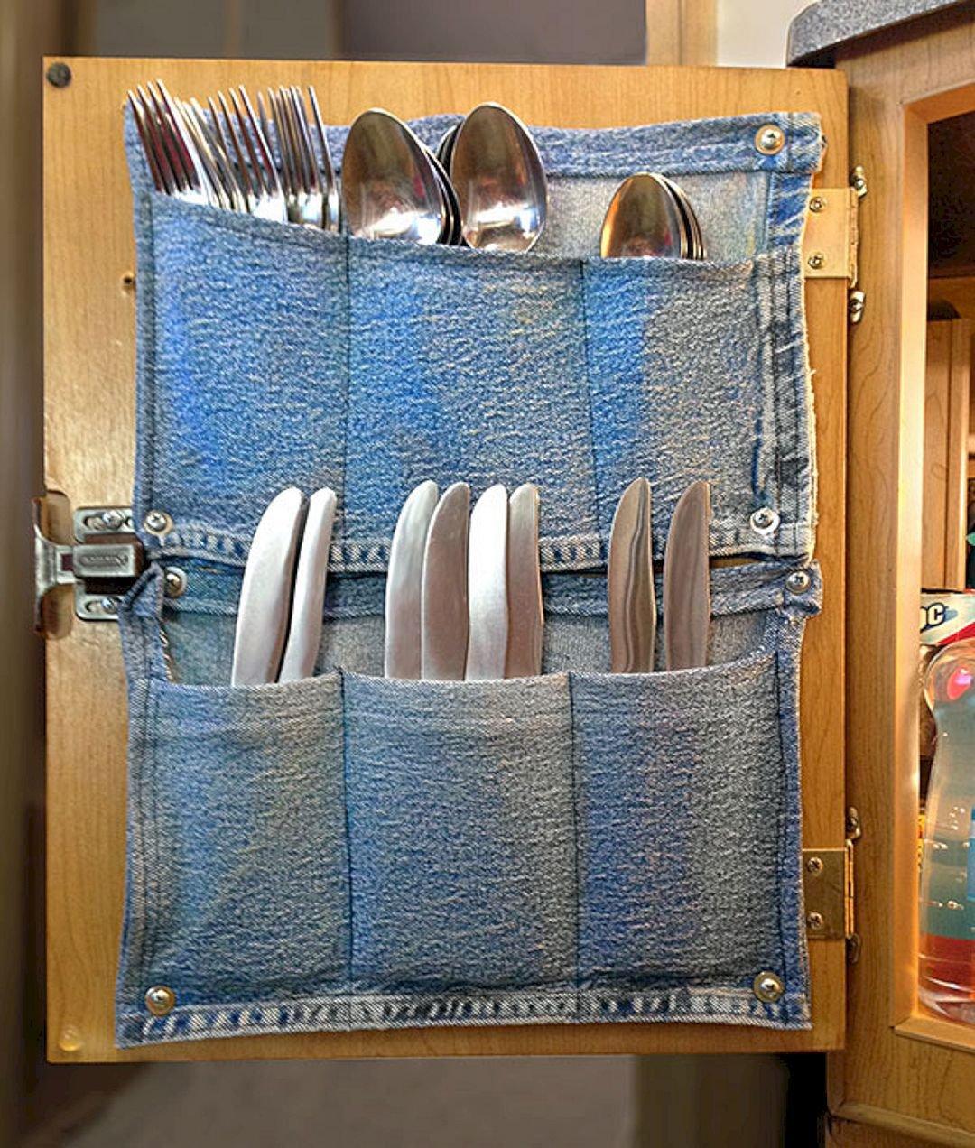 Оригинальные кармашки для кухни фото