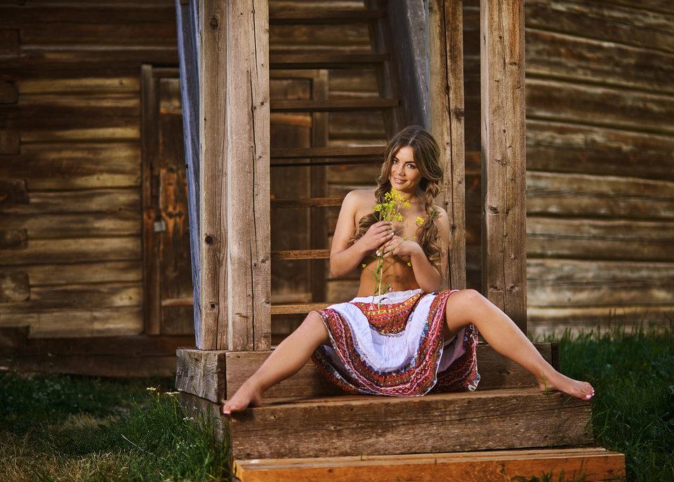 Реальные фото голых деревенских девок фото 11