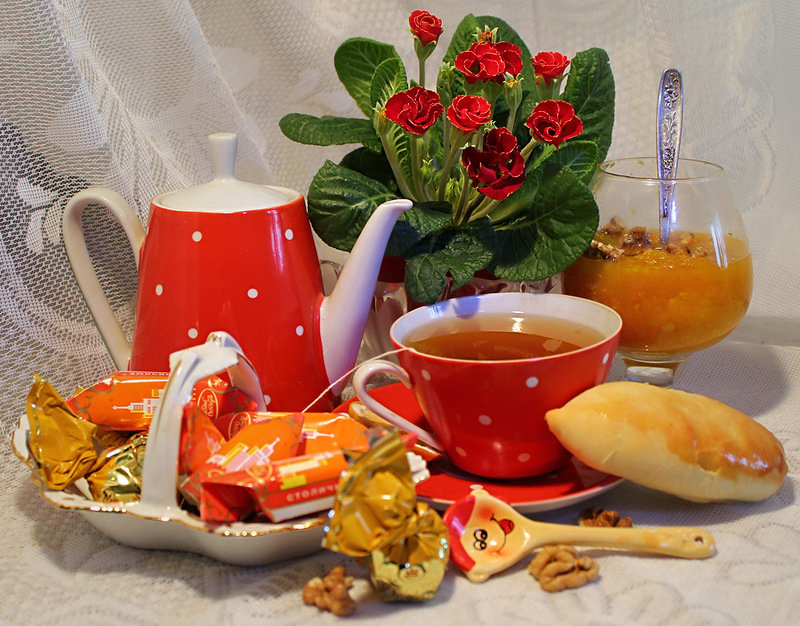 Чай только для тебя открытки