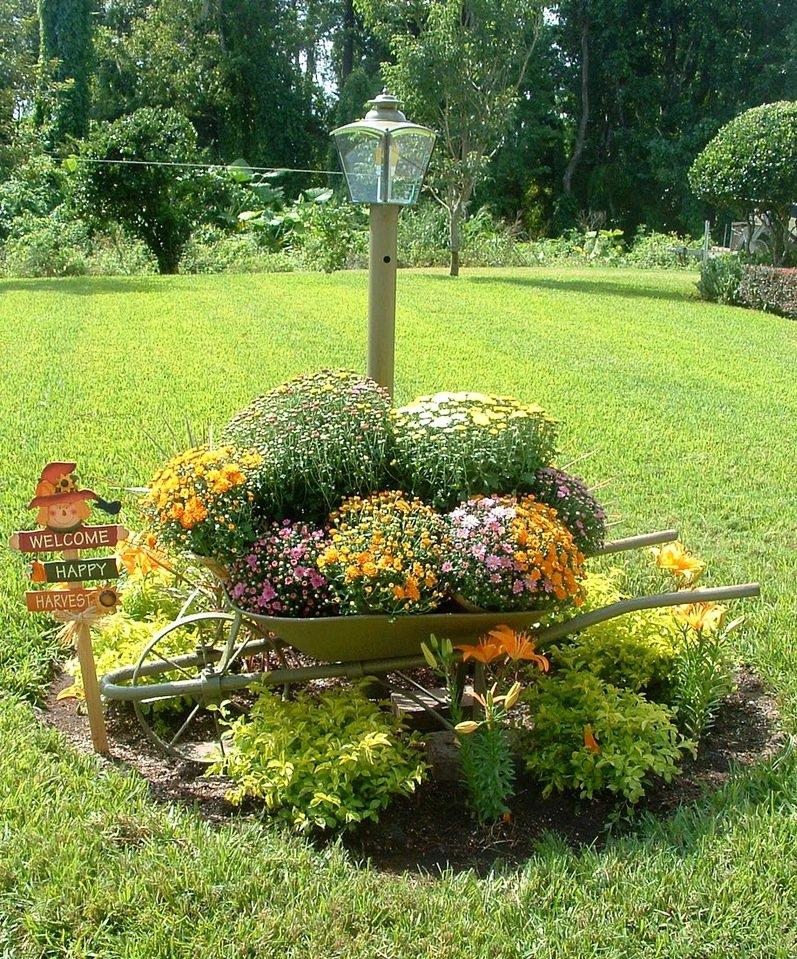 поклонники садовый декор в ландшафтном дизайне фото сшить