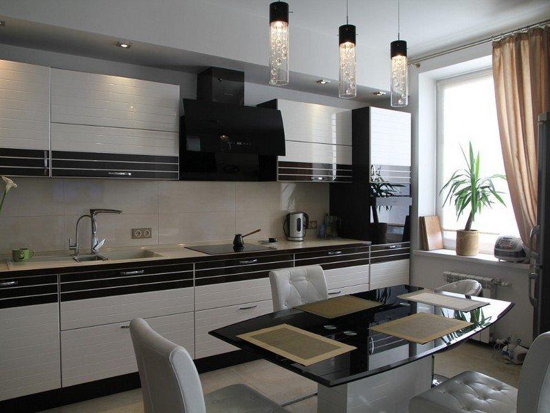 Идея планировки кухни 10 кв. метров