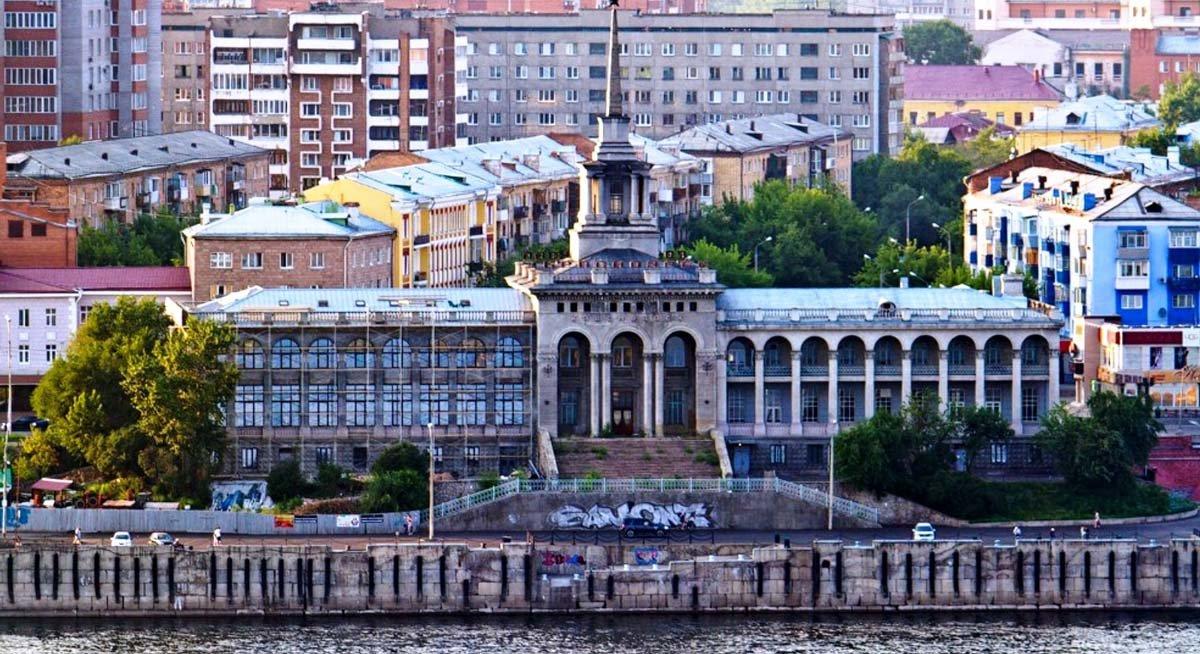 речной вокзал красноярск фото