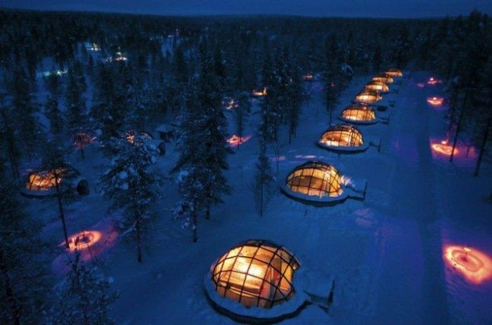 Необычный отель в Финляндии