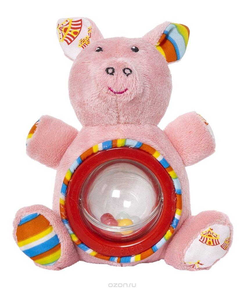 Мягкая игрушка свинка РОСМЭН