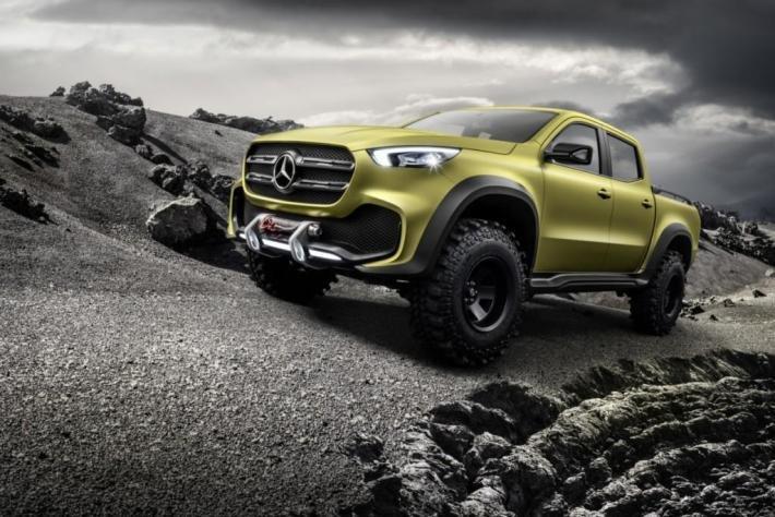 Производство пикапов под брендом Mercedes будет налажено на заводах Nissan и Renault.