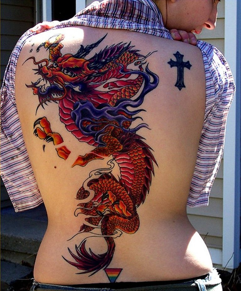 Tattoos pictures asian dragons #11