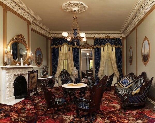 Элементы интерьера в стиле барокко – отделка