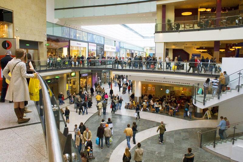 Arndale Centre — самый крупный торговый центр, Манчестер