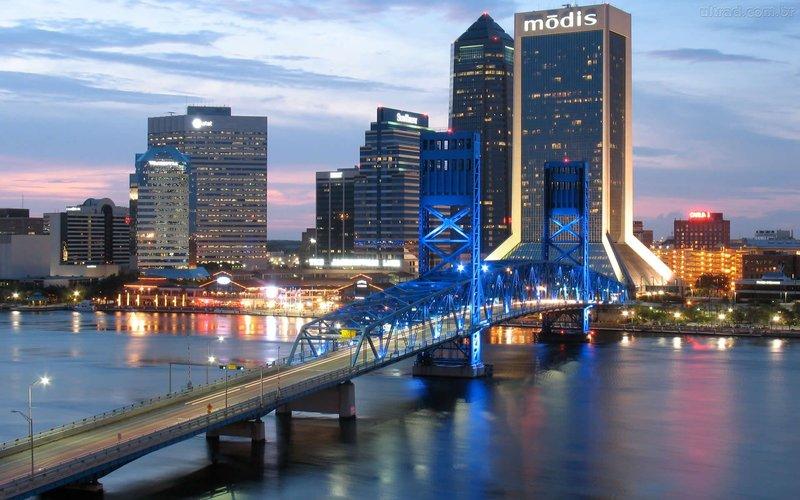 Джэксонвилл - самый густонаселенный город штата Флорида