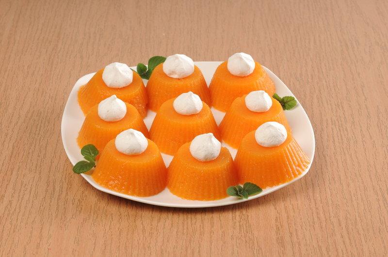 Легкий, оригинальный и яркий десерт из тыквы и цитрусовых!