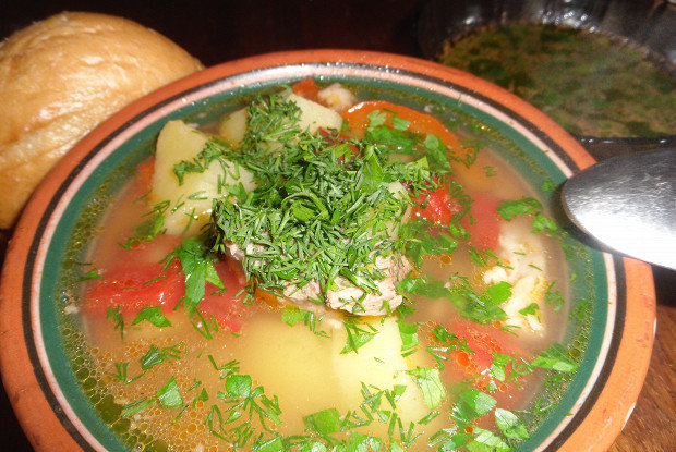 Хомшурбо – самый популярный суп в Таджикистане