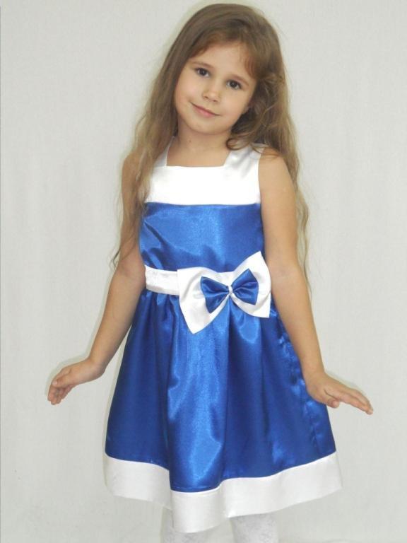 модное атлосное платье для девочек