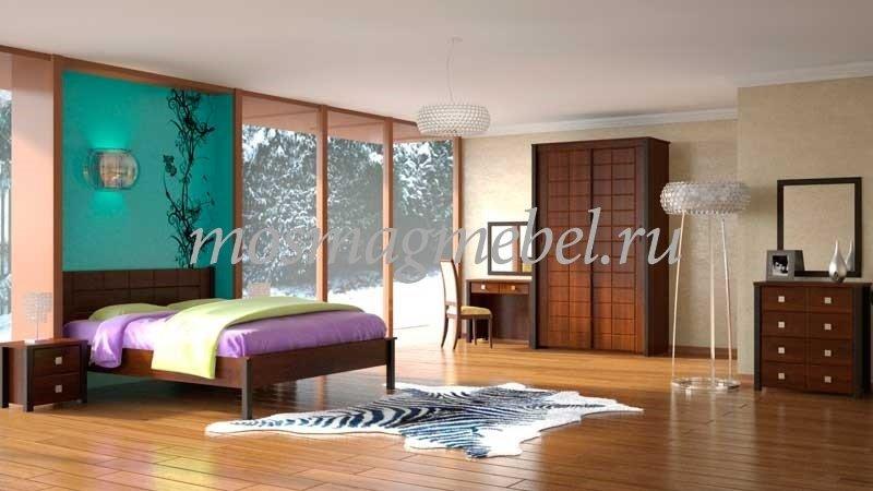 Купить недорого комплект мебели для спальни Спальня Изабель-2 Вы можете в интернет-магазине Мосмагмебель.РУ по цене производителя Компасс мебель с доставкой по Москве и области без предоплаты.