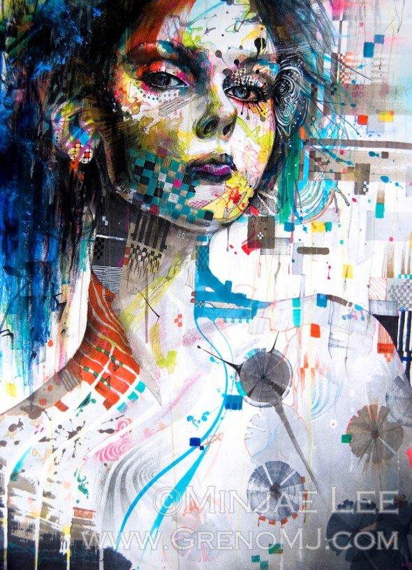 Постеры художники мира