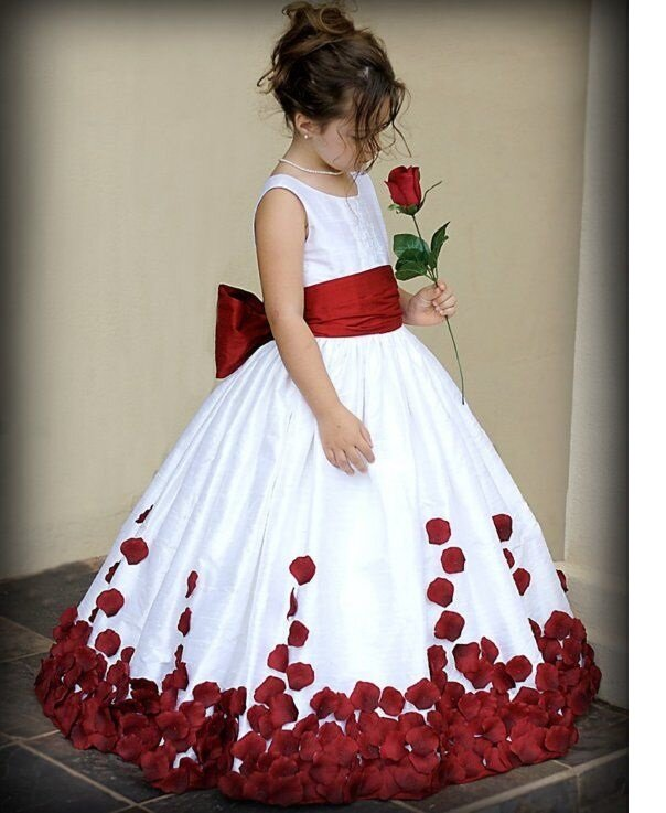 детские модели платьев для торжеств