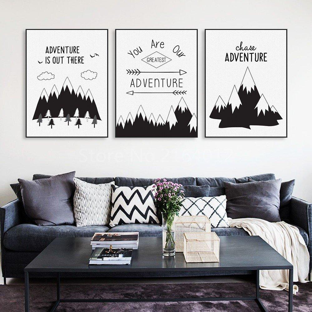 Надписи для постеров в гостиную