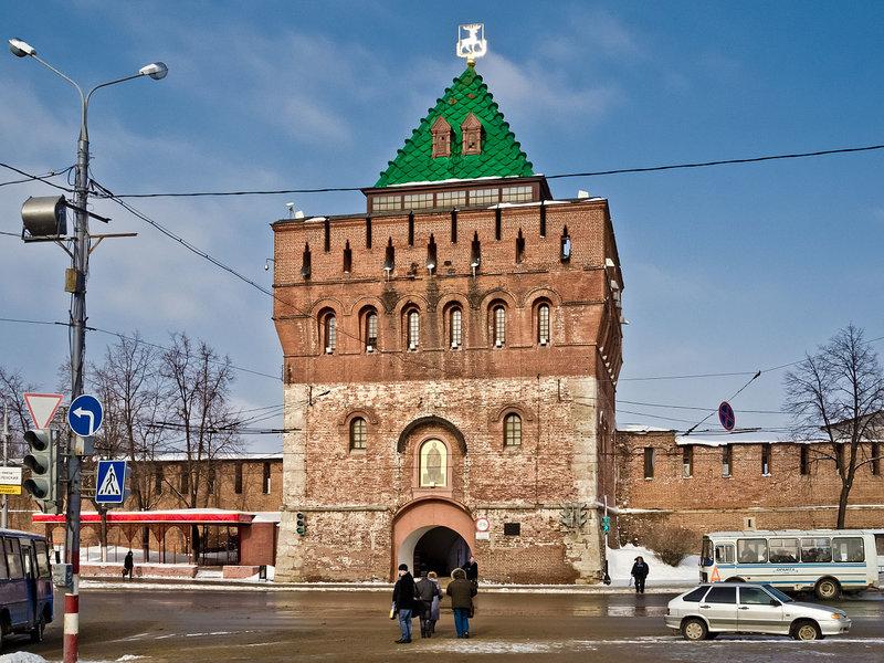 Нижегородский государственный художественный музей, Дмитровская башня Нижегородского кремля