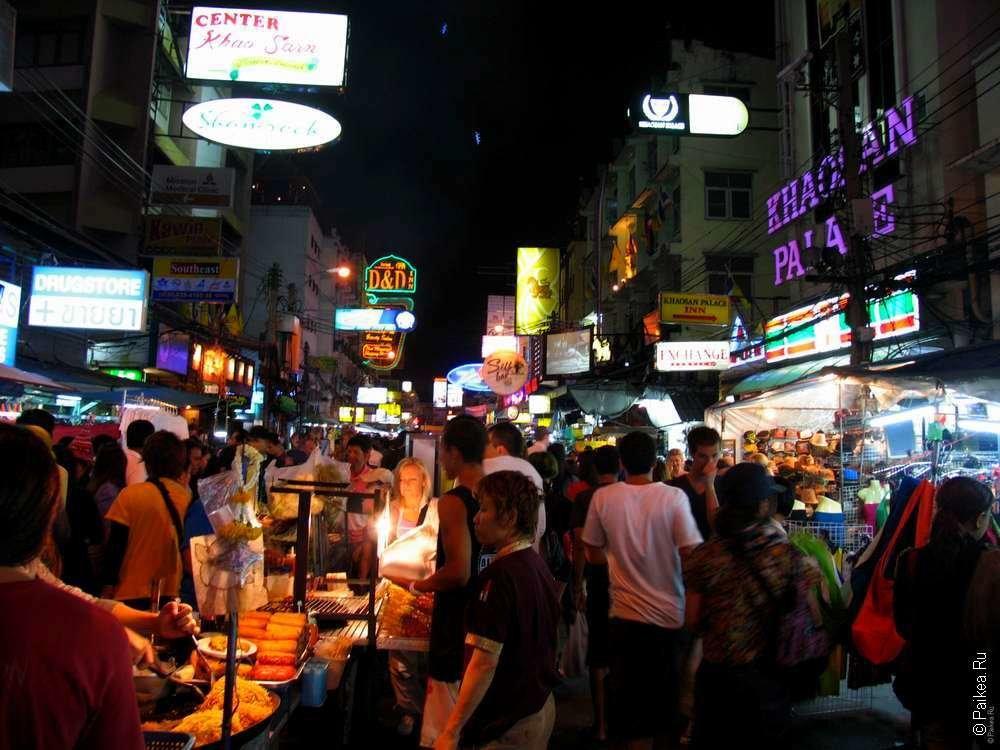 улица бангкока с проститутками