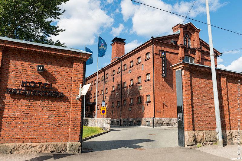 Необычный отель-тюрьма Best Western Premier Hotel Katajanokka
