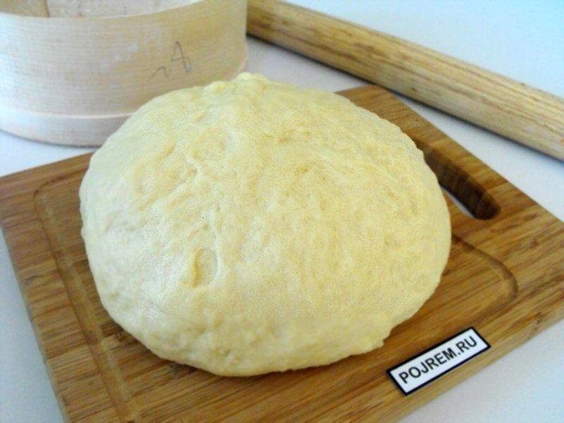Дрожжевое опарное тесто для булочек