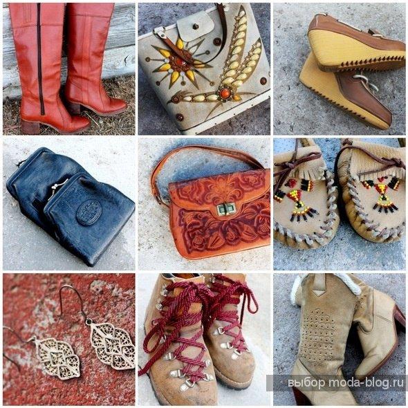Винтажная обувь, одежда, аксессуары - Аксессуары - Мода-блог