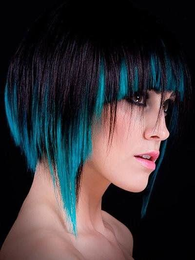 красивое окрашивание волос на короткие волосы бесплатное гадание