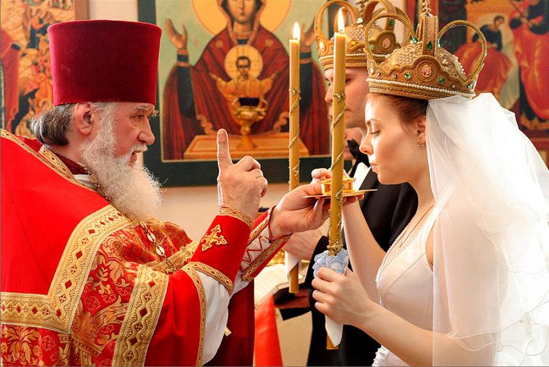 Подготовка к венчанию для жениха и невесты