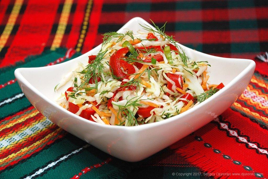 Необычайно полезный витаминный салат