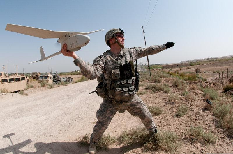 Военные дроны