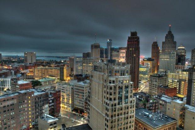 Детройт - город на севере США, в штате Мичиган