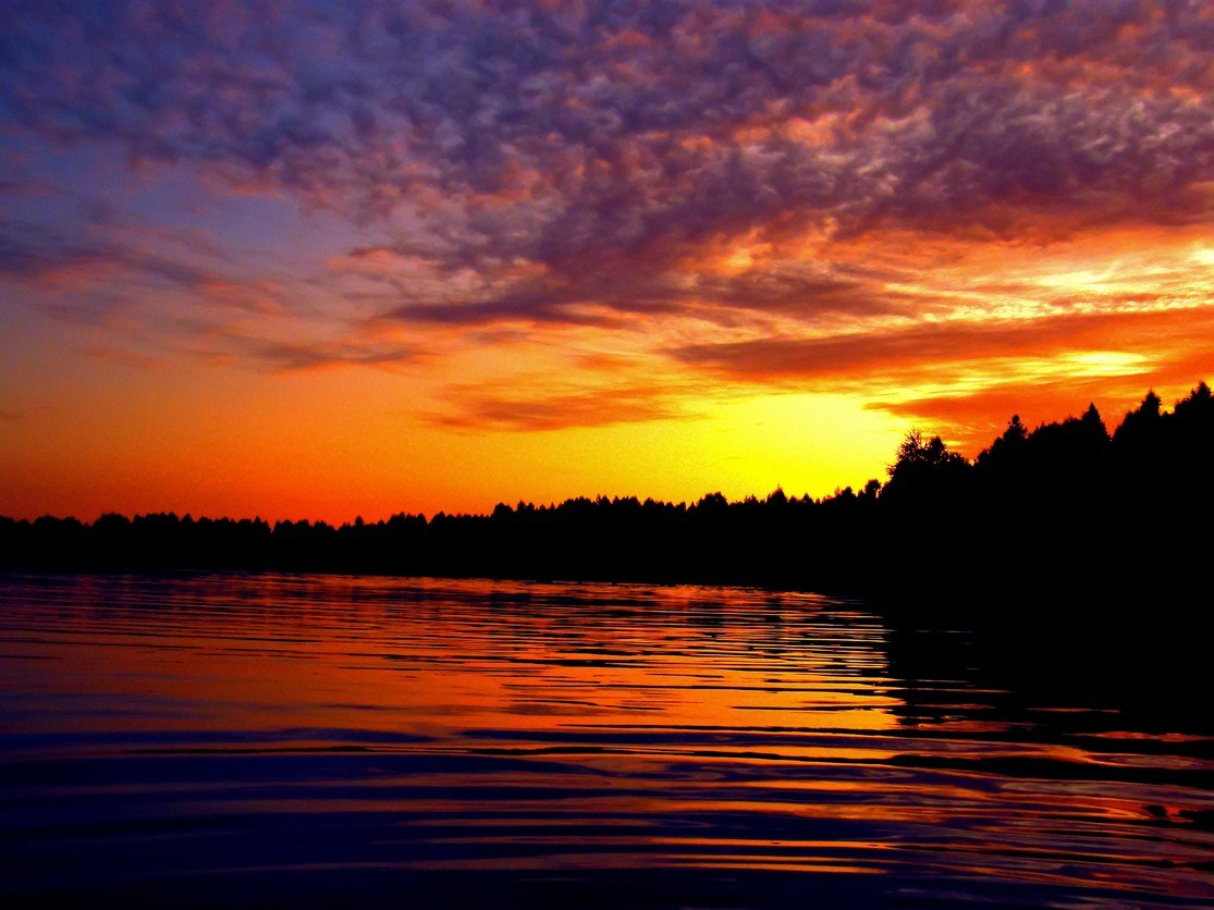 красивые картинки пейзаж закат знакомая