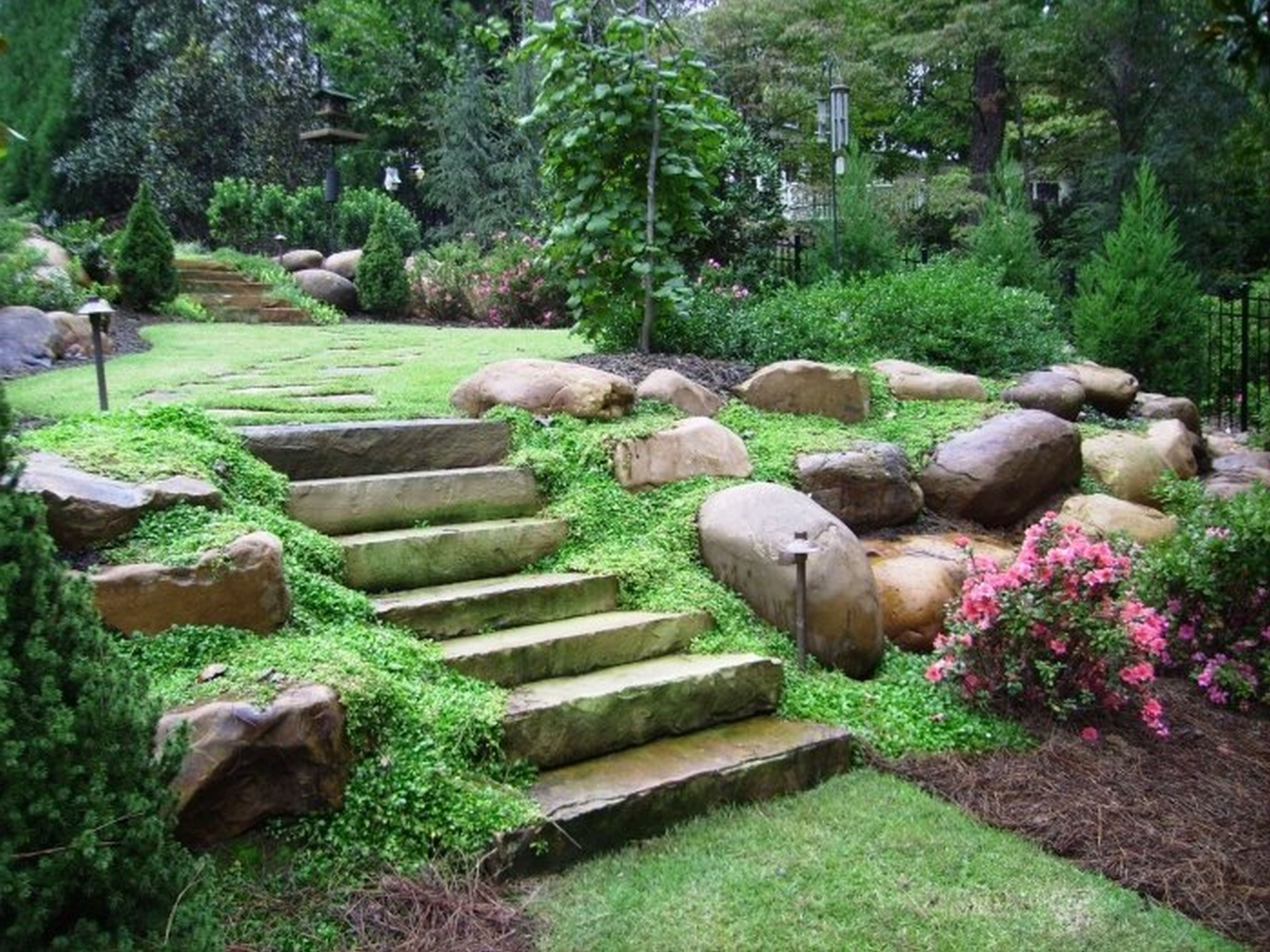 House Landscape Landscaping Ideas Surprising Northwest Also Cool In