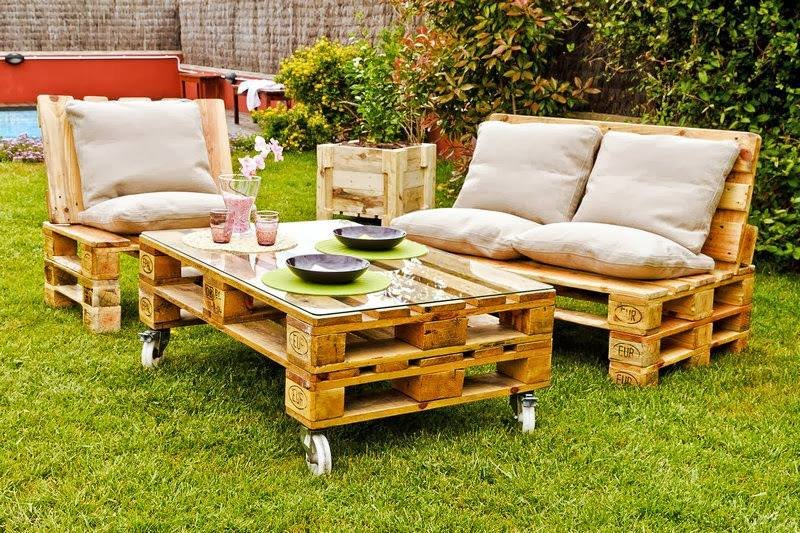 48 ideas for recycling old pallets, tires and even the whole cars