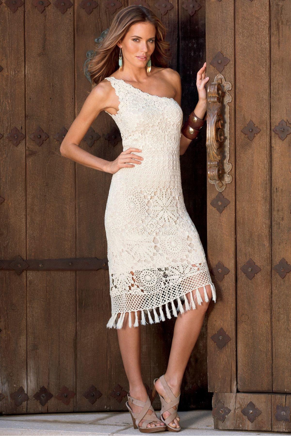 Очень красивые ажурные платья крючком фото шымкенте такое