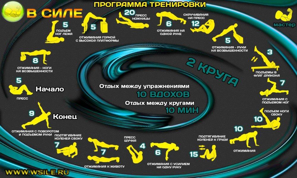 логическая игра примерный план круговой тренировки для девушек этой статье здраво
