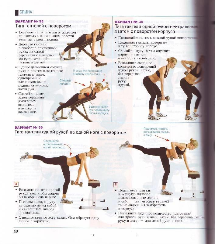 упражнения для зала для похудения в картинках этом
